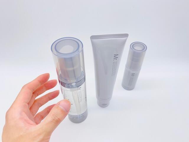 リニューアルしたオルビスのメンズライン「ミスター」の洗顔料・化粧水・保湿液(乳液)