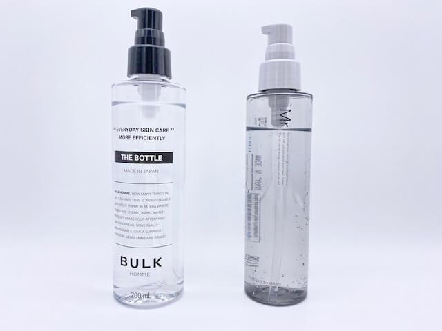 バルクオムとオルビスミスターの化粧水