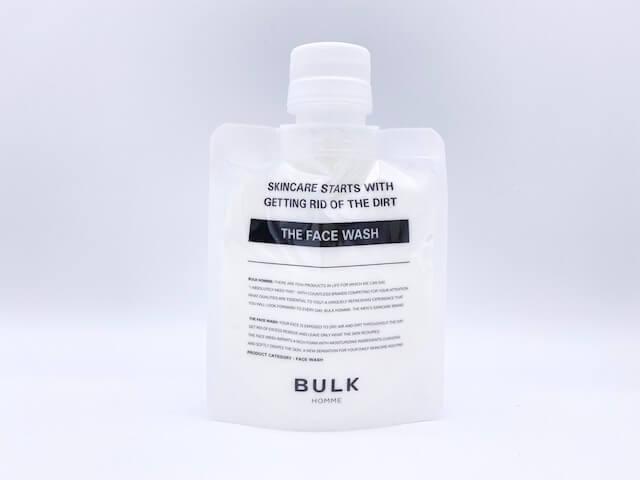 選択洗浄機能を持つバルクオムの洗顔料