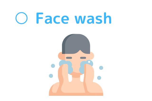 正しい洗顔