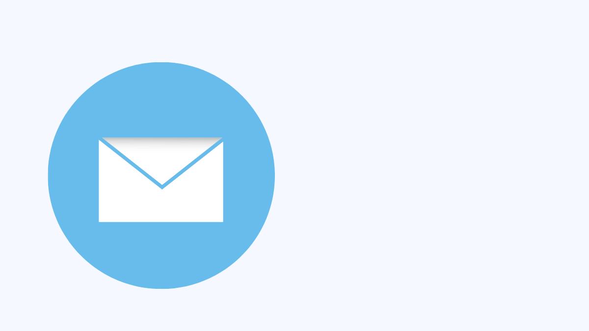 メールのマーク