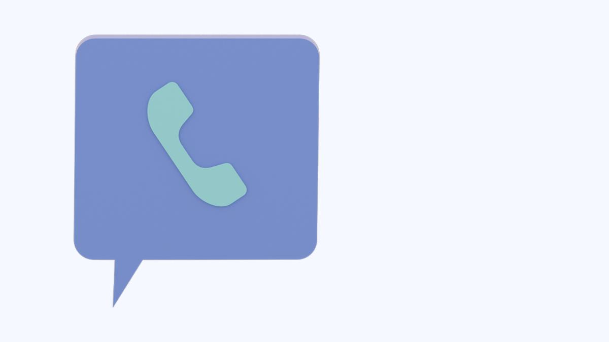 電話のマーク