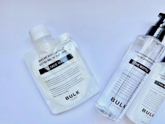 バルクオムの洗顔料・化粧水・乳液
