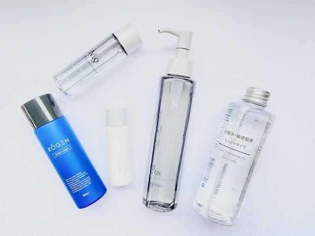 初心者のメンズにおすすめな5つの化粧水