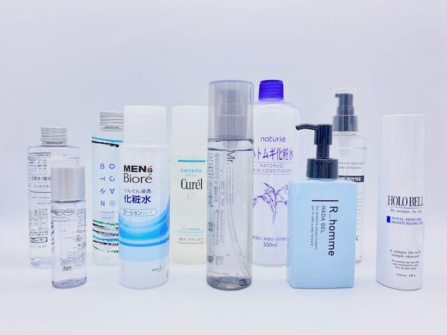 おすすめメンズ化粧水ランキングベスト10