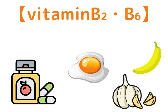 ビタミンB₂・B₆