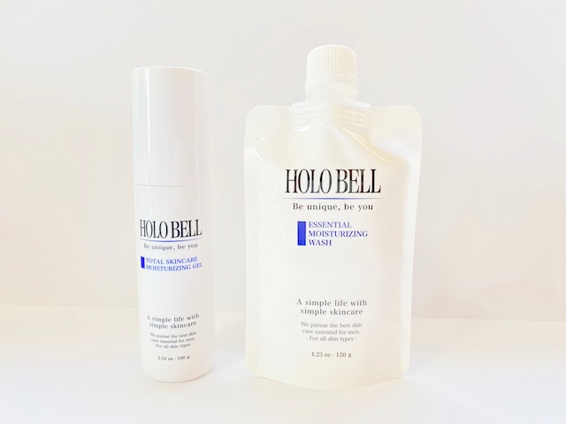 ホロベルのオールインワン化粧水と洗顔料