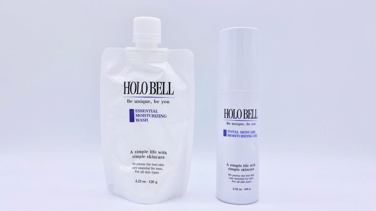 ホロベルの2つのスキンケア「エッセンシャル保湿ウォッシュ」と「トータルスキンケア保湿ジェル」