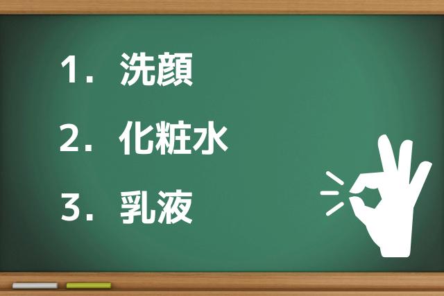 男子高校生におけるスキンケア3つのポイント