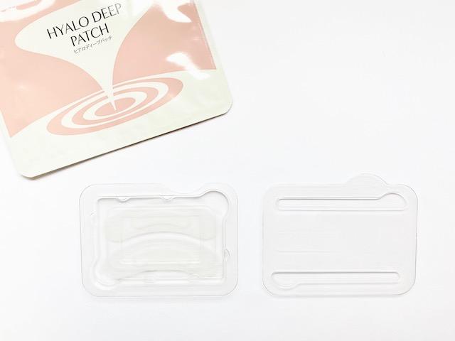 二重に個包装されたヒアロディープパッチ