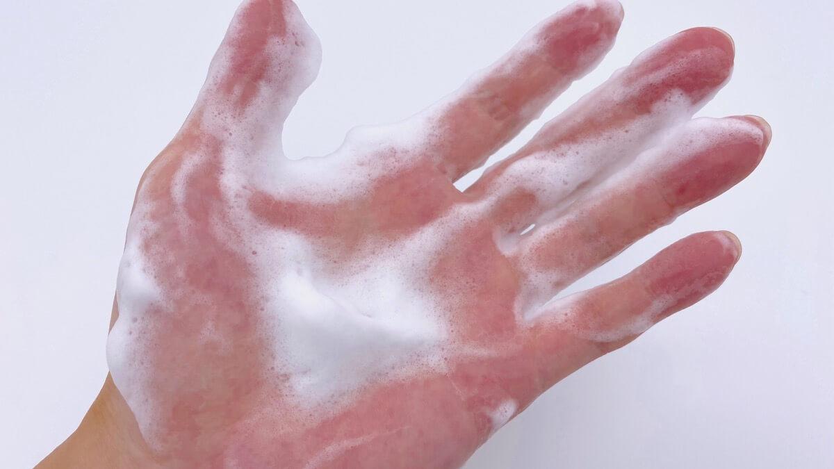 酵素洗顔料にありがちな緩い泡
