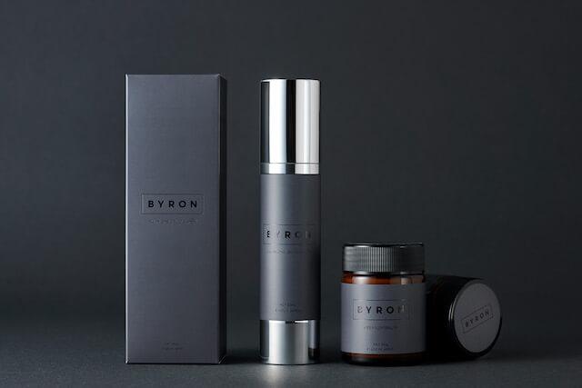 2021年新発売のメンズコスメブランド「BYRON」