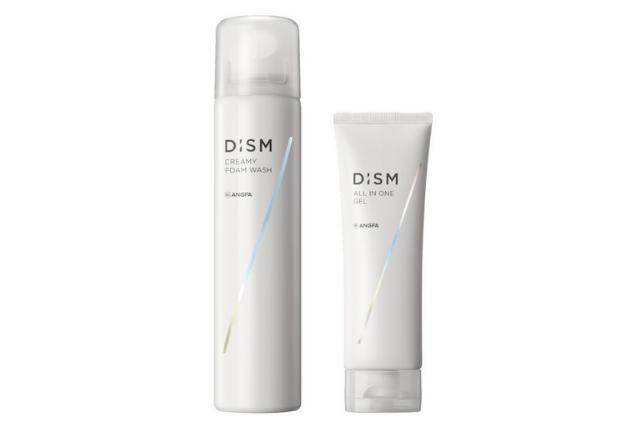 2021年4月に発売する新メンズスキンケアブランド「DISM(ディズム)」