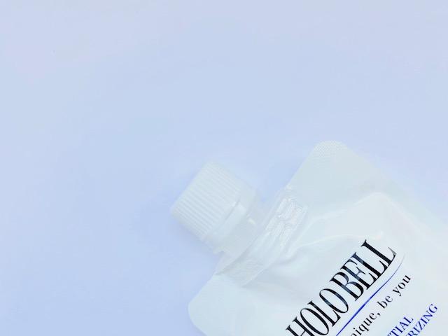 ホロベルの洗顔料のキャップ部分