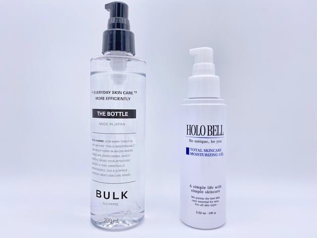 ホロベルとバルクオムの化粧水