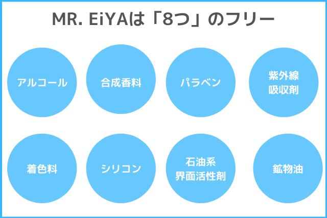 MR.EiYAの8つのフリー