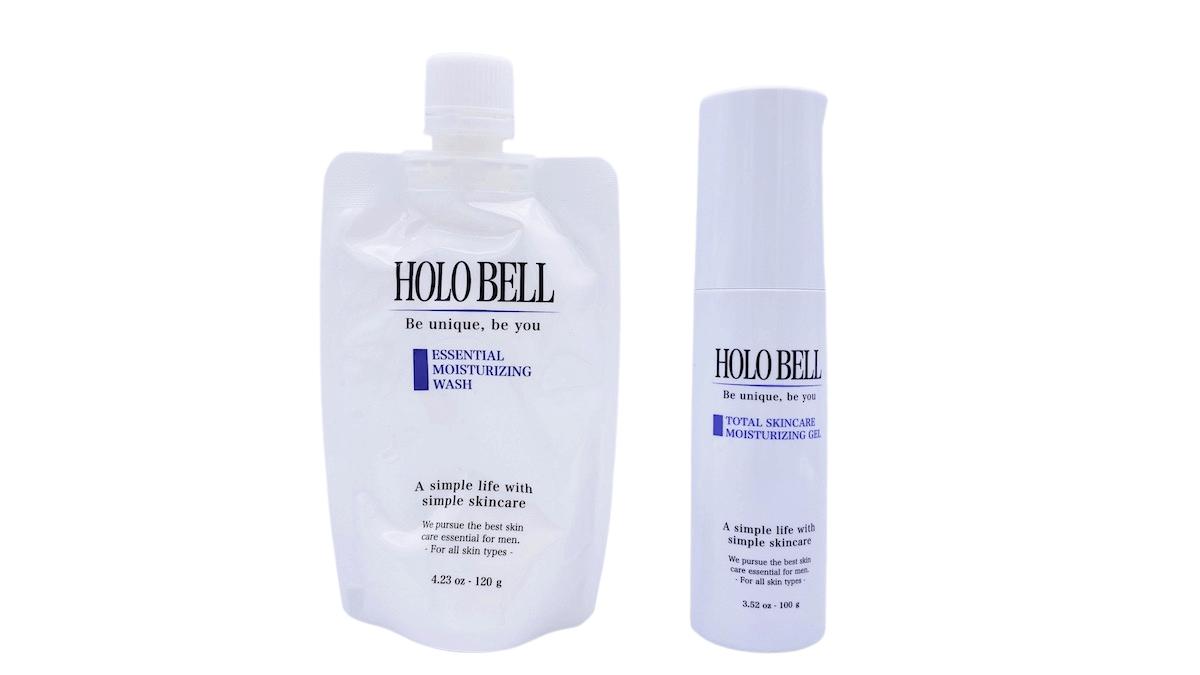 ホロベルの洗顔料と化粧水(オールインワンジェル)