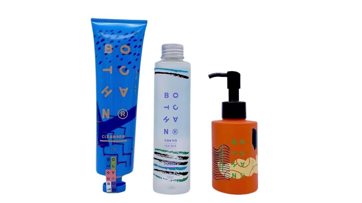 BOTCHANのスキンケアライン「洗顔料・化粧水・美容乳液」